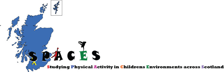Studying Physical Activity in Childrens Environments across Scotland